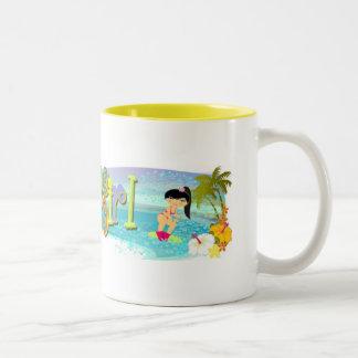 TropoGirl - Mug Happy Surfing