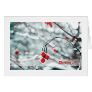Troth Yule Card :: Winter Berries (ICE)