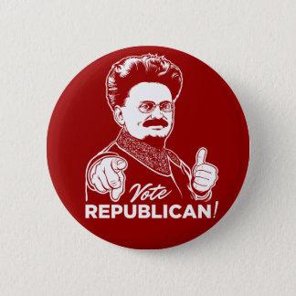 Trotsky Vote Republican Button
