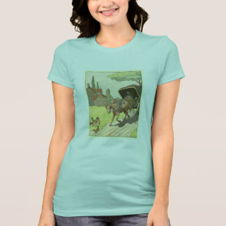 Trotting Horse and Buggy T-Shirt