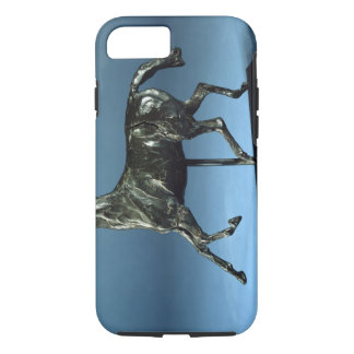 Trotting Horse (bronze) iPhone 7 Case