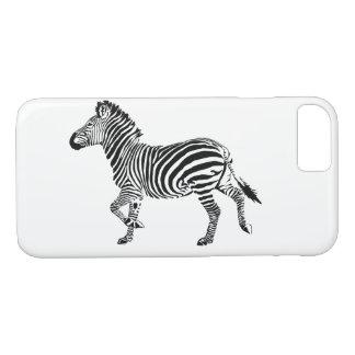 Trotting Zebra Iphone case