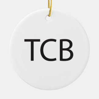 Trouble Came Back -or- Taking Care of Business ai Christmas Tree Ornaments