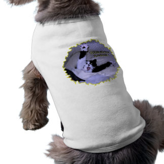 TROUBLE GETTING OUT OF BED DOG TSHIRT