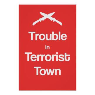 Trouble In Terrorist Town Garry'smod Poster