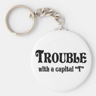 Trouble Keychain