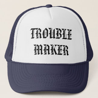 trouble maker truck hat