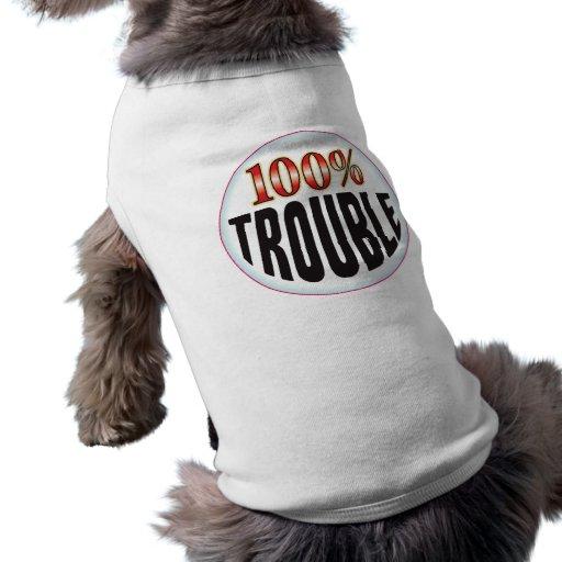 Trouble Tag Doggie Tee Shirt