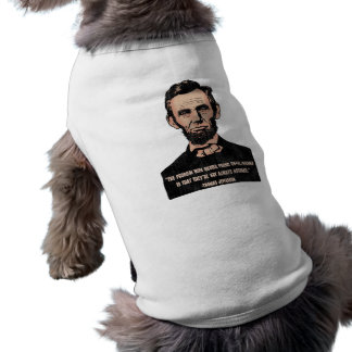 Trouble With Quotes Sleeveless Dog Shirt