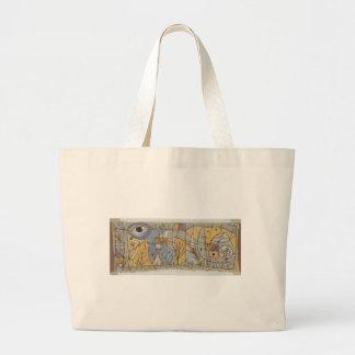 Troubled, 1934 jumbo tote bag