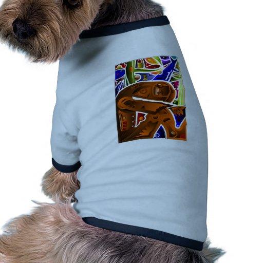 Troubled Man Dog Tshirt