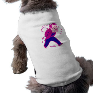 Troubles procures concerns troubled sleeveless dog shirt