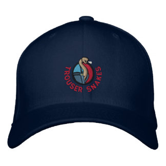 Trouser Snakes  Hat Embroidered Hats
