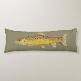 Trout Body Pillow