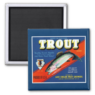 Trout Brand Magnet