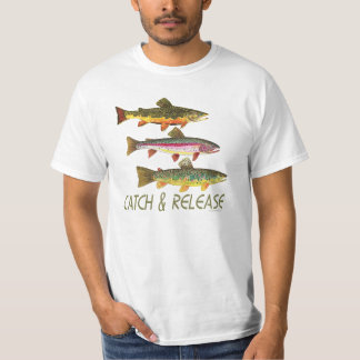 Trout Catch and Release T-Shirt