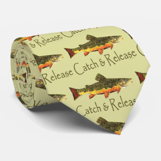 Trout Fishing   Catch and Release Tie