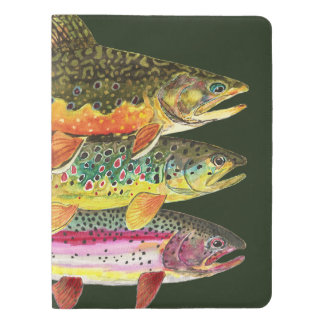 Trout Fishing Extra Large Moleskine Notebook