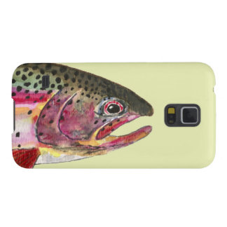 Trout Fishing Galaxy S5 Covers