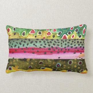 Trout Fishing Lumbar Cushion