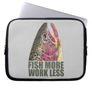 Trout Fishing More Laptop Sleeve