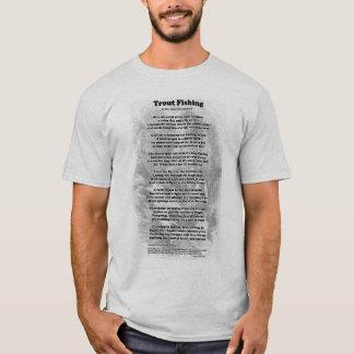 Trout Fishing Poem T-Shirt