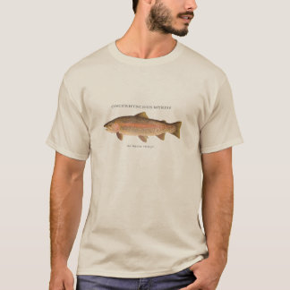 Trout fishing with Rainbow Trout vintage image T-Shirt