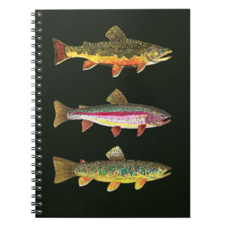 Trout Fly Fishermen Notebook