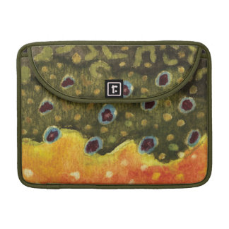 Trout Fly Fishing Sleeve For MacBook Pro
