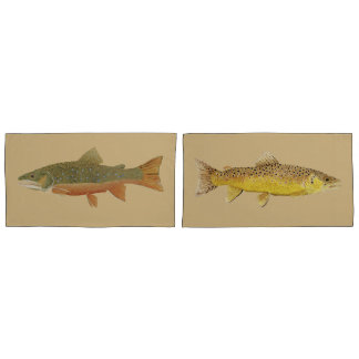 Trout King Size Pillow Cases