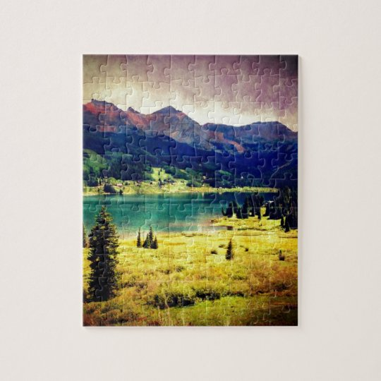 Trout Lake Jigsaw Puzzle