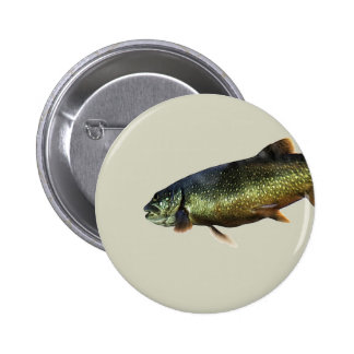 Trout on Beige Pin