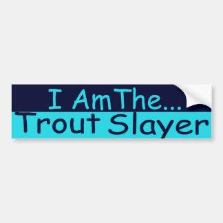 Trout Slayer Bumper Sticker