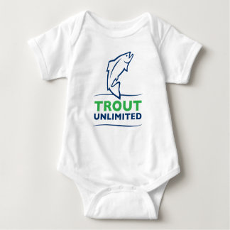 Trout Unlimited Baby Jersey Baby Bodysuit