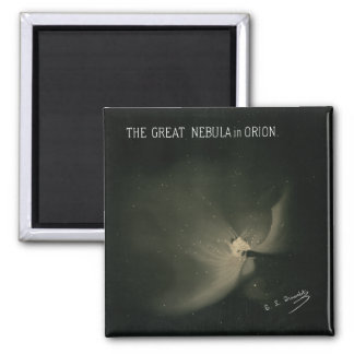 Trouvelot Drawings - The Great Nebula in Orion Magnet