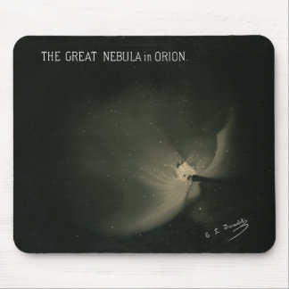 Trouvelot Drawings - The Great Nebula in Orion Mouse Pad