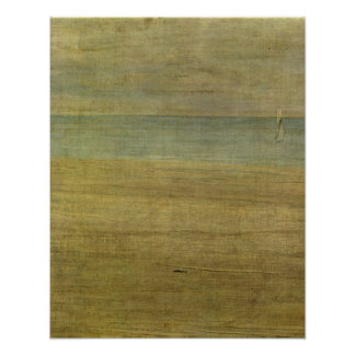 Trouville by James Abbott McNeill Whistler Poster