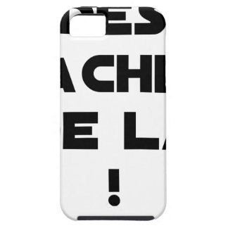Trowels from there! - Word games - François City iPhone 5 Case