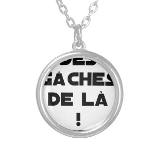 Trowels from there! - Word games - François City Silver Plated Necklace