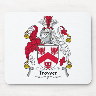 Trower Family Crest Mouse Pad
