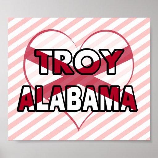 Troy, Alabama Print