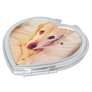 Troy Baby Heart Compact Mirror