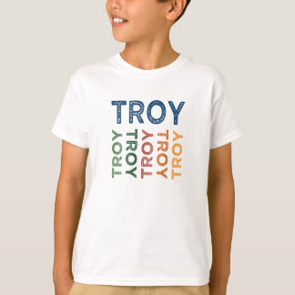 Troy Cute Colorful T-Shirt