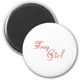 Troy Girl tee shirts Fridge Magnet