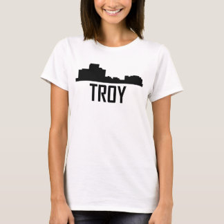 Troy Michigan City Skyline T-Shirt