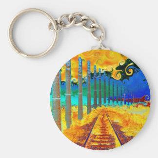 Trstenik by Vincent van Gogh Key Ring