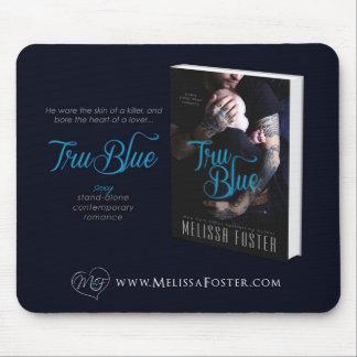 Tru Blue Contemporary Romance Mouse Pad
