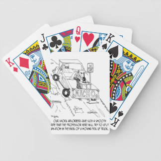 Truck Cartoon 0040 Bicycle Playing Cards