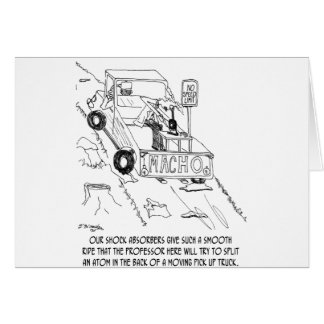 Truck Cartoon 0040 Card
