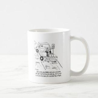 Truck Cartoon 0040 Coffee Mug